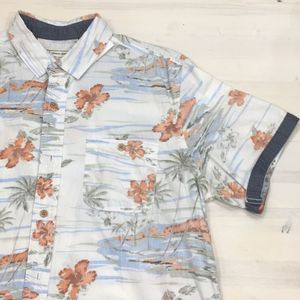 Alexander Julian aloha button down shrt sleeve szL